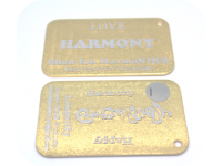 Soma-Vita Harmony Wellness Card (Gold color)