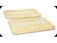 Soma-Vita Harmony Wellness Card (Gold color)