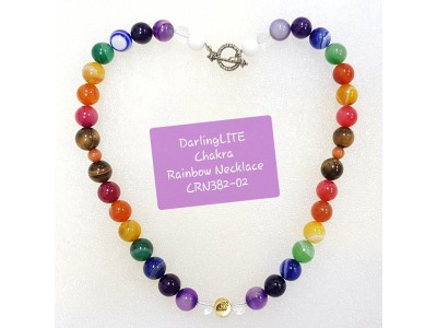 DARLINGLite Chakra Rainbow Necklace 382