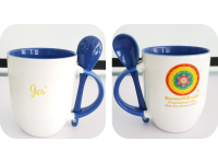 HarmoNIKLifE Mug W Teaspoon