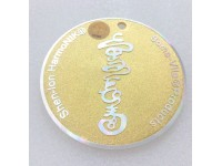 Soma-Vita Harmony Wellness Disc (Gold Color)