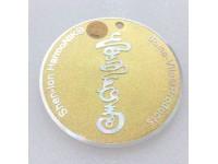 Soma-Vita Harmony Wellness Disc (Gold Color)