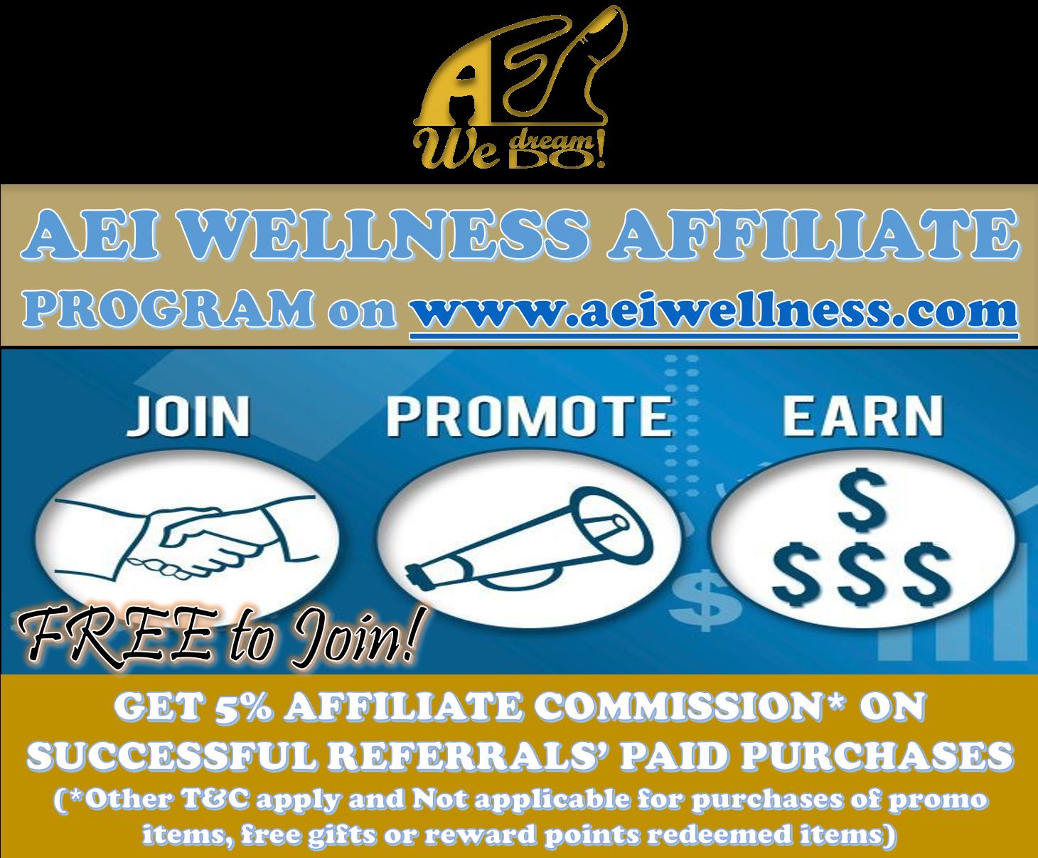 AEI Wellness Affiliate Program